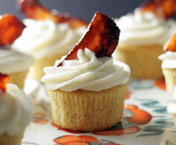 Bacon and Beer Cupcakes Recipe. 'Nuff Said.