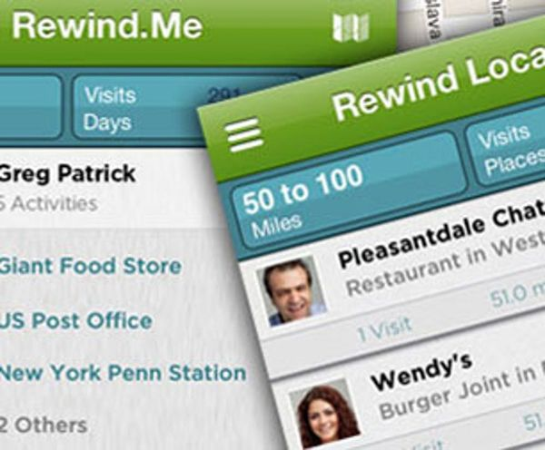 Rewind.me: A Time Machine for Your Digital History