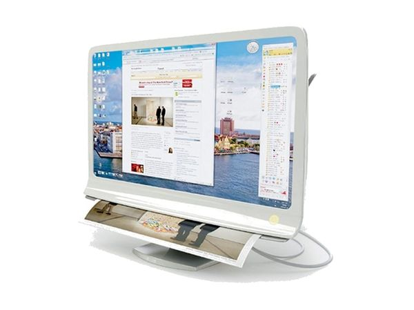 The Combi Monitor Lets You Print Your Screen, Literally!