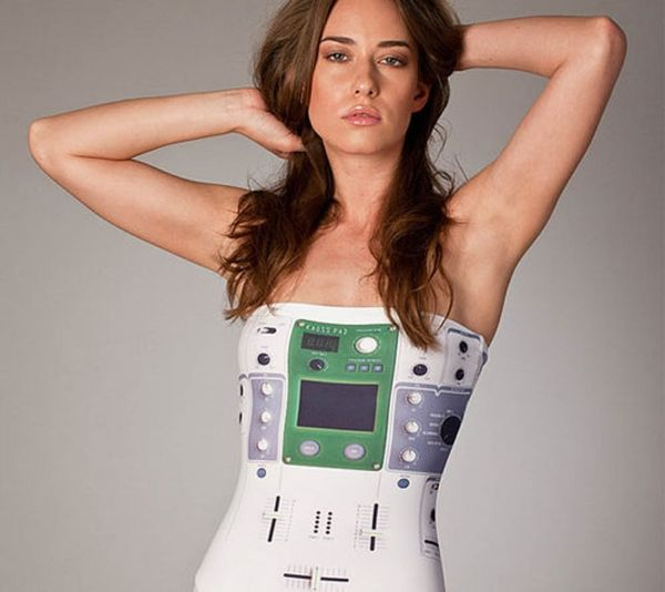 Geek Chic Swimwear: Galaxies, Turntables & 3D Printed Bikinis, Oh My!