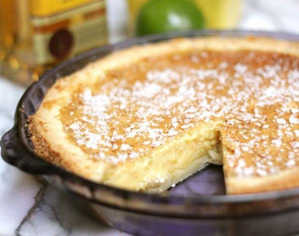 What's Better Than a Frozen Margarita? Margarita Pie!