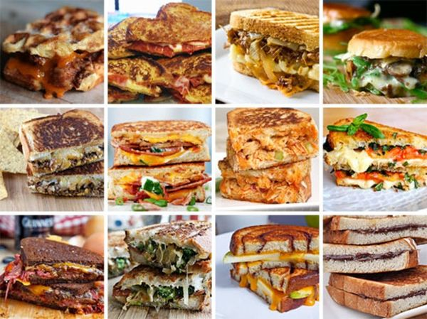 12 Ways to Grill Your Cheese