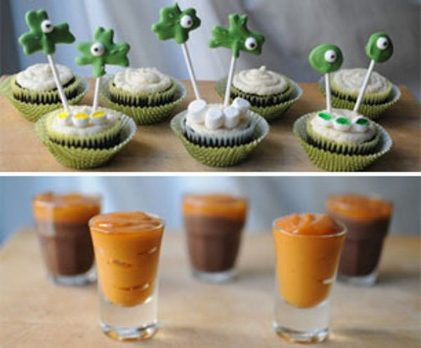 Boozy Irish Cupcakes & Jameson Pudding Shots