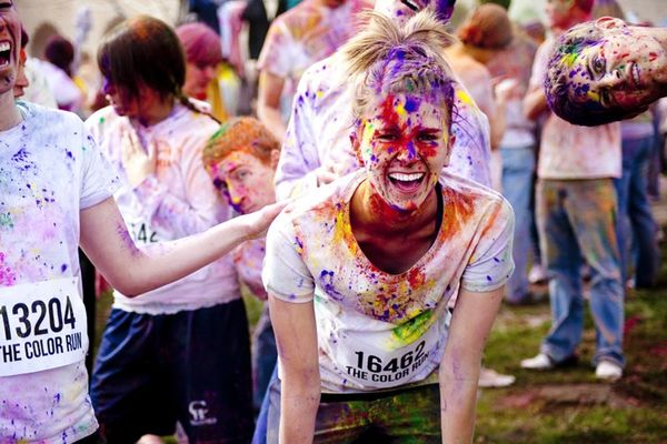 The Secret to Loving Running? The Color Run