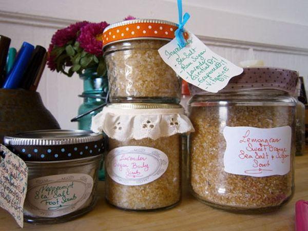 Scrub-A-Dub-Dub: Homemade Salt & Sugar Scrubs