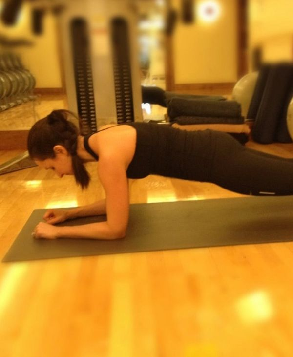 January's Five Minute Plank Challenge