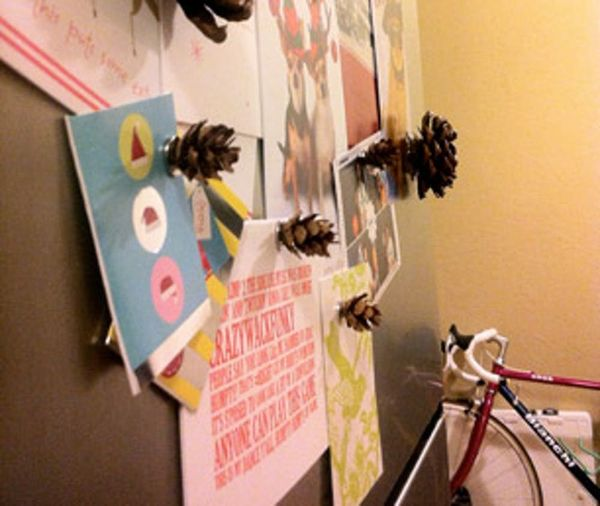 How To Make Pine Cone Magnets