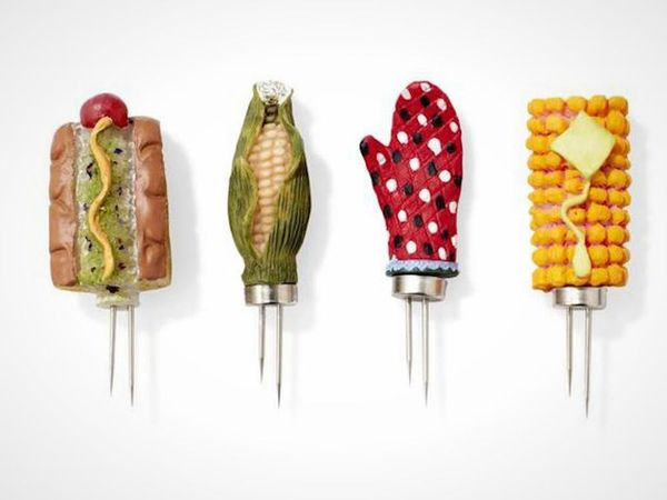 11 Adorable Ways to Skewer Your Corn on the Cob