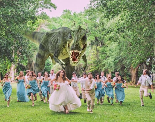 The 22 Craziest and Most Creative Wedding Photos Ever
