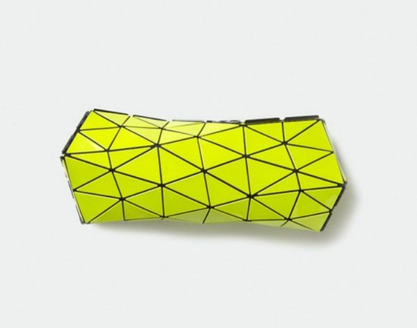 We're Obsessed: Issey Miyake's Neon Origami Clutch