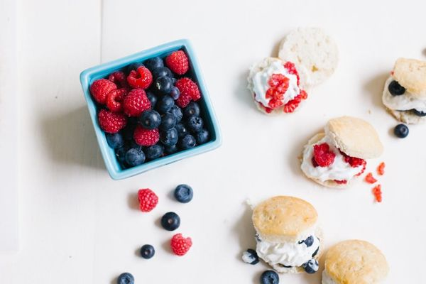 Last Minute 4th of July Dessert Alert: Smashed Berry Shortcake