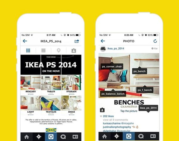 Genius! How Ikea Hacked Instagram to Present Their Latest Collection
