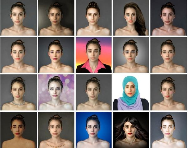 "25 Photoshopped Variations of What ""Beautiful"" Means Around the World"