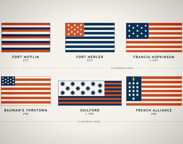 OMG Can You See: The History of the U.S. Flag In One Glorious Infographic