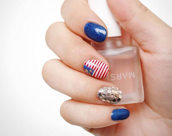 13 Patriotic 4th of July Nails to Rock All Weekend