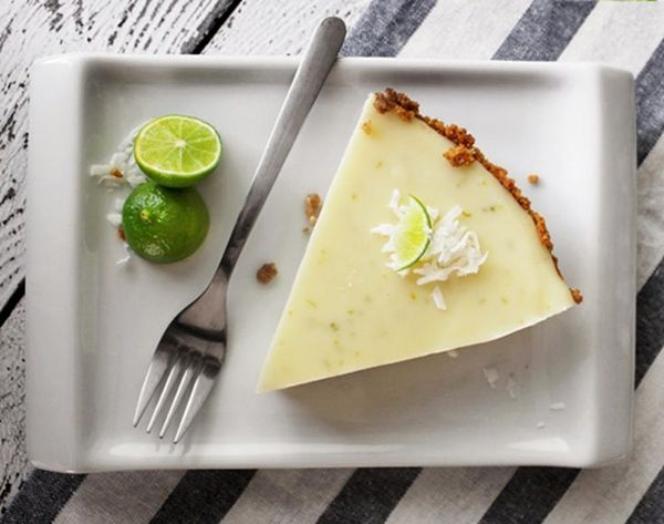 summer pie recipes key lime pie on a white plate fourth of july
