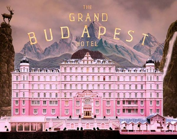 Behold the Grand Budapest Hotel, Built Entirely From LEGOs!