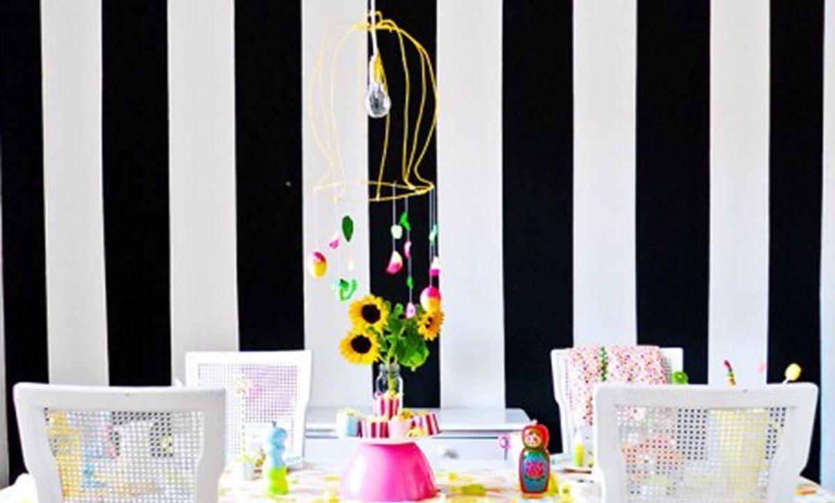 24 Bold Ideas For Striped Walls Brit Co