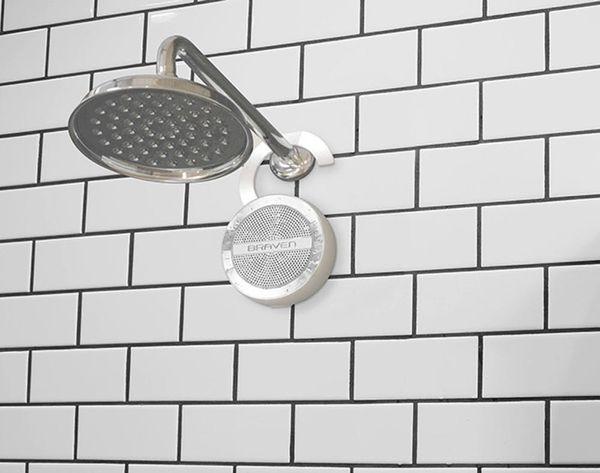 This Waterproof Speaker Makes It Easier to Sing in The Shower