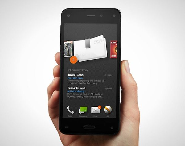 6 Things Amazon's New Fire Phone Does That the iPhone 6 Can't