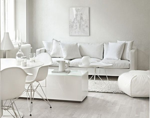 Goodbye Color: 25 Fabulous All-White Rooms