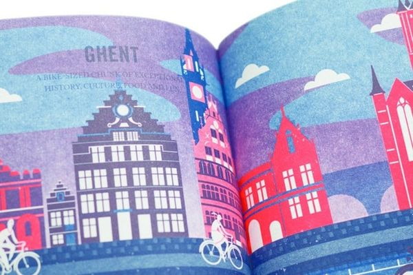The Prettiest City Cycling Guides You've Ever Seen