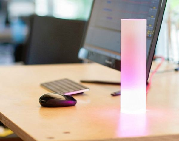This Smart Lamp Tells People Where You Are