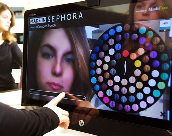 Try on Any Shade With Sephora's First Ever 3D Augmented Reality Mirror