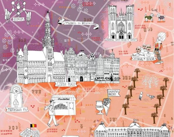 The 10 Most Beautifully Illustrated City Guides (See Ya, Google Maps!)