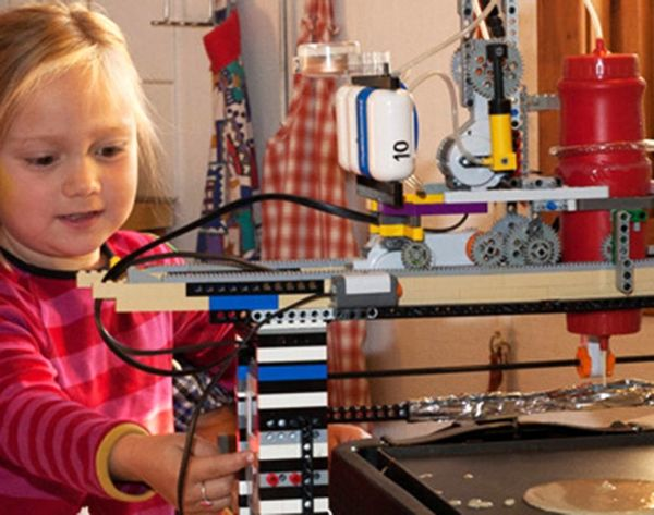 How LEGOs Could Change Breakfast (At Least Pancakes) Forever
