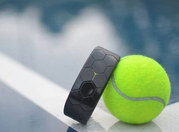 This Wristband Promises to Seriously Improve Your Tennis Game