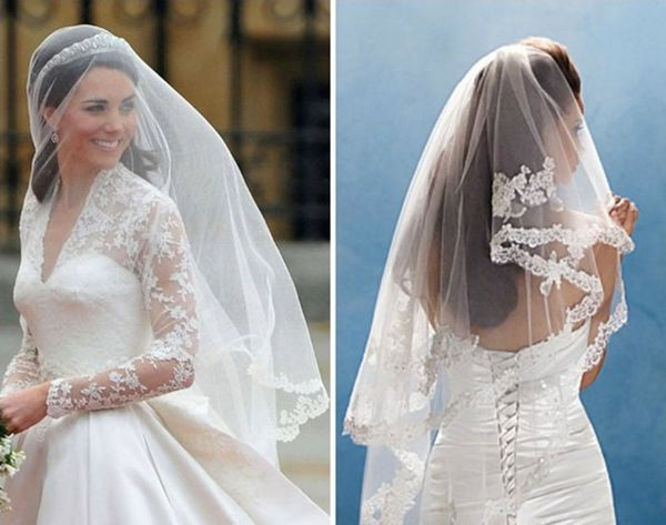 From Kate to Kim: 12 Celebrity-Inspired Wedding Veils We Love