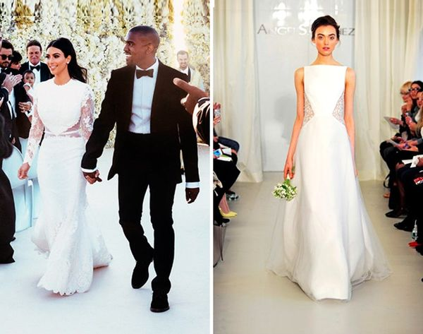 10 Wedding Dresses Inspired by Kim's Givenchy Gown