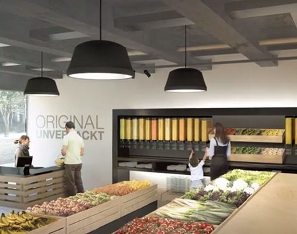 Shop Inside the World's First Package-Free Supermarket