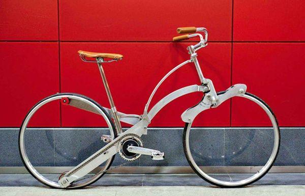 Sada Bike Is a Foldable Bike You Can Carry Like a Backpack