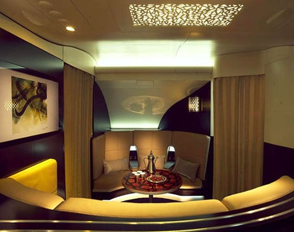 See What a $43,000 Plane Seat Looks Like (Butler Included)