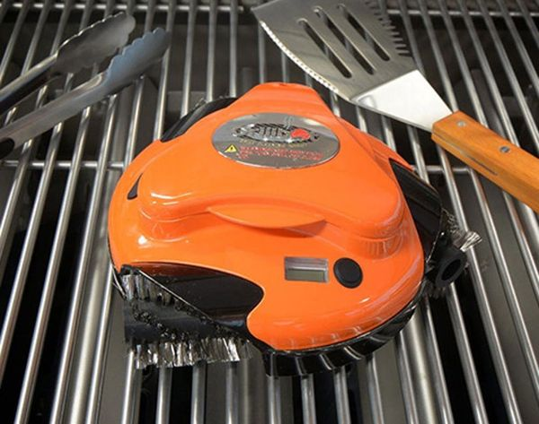 This Little Robot Will Clean Your Grill for You