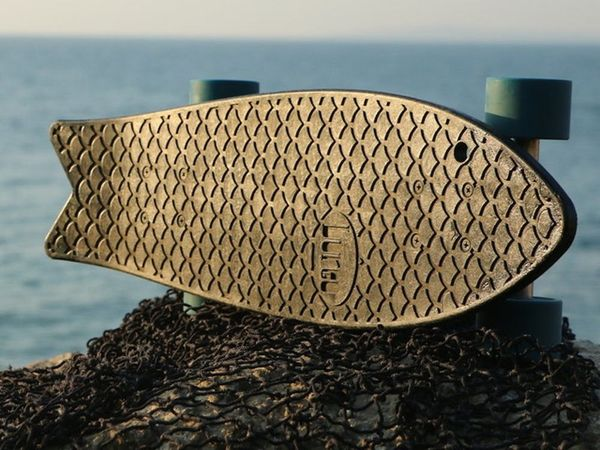 You'll Never Guess What This Skateboard is Made From…