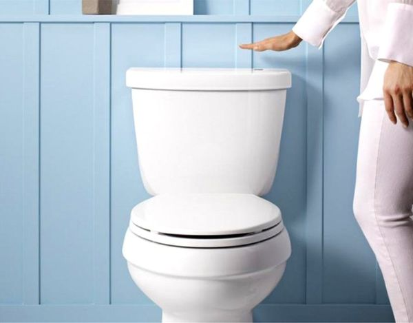 Germs, Begone. Meet the Touchless Toilet