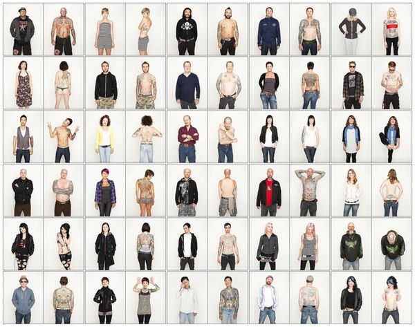This is What 100+ Fully Tattooed Humans Look Like