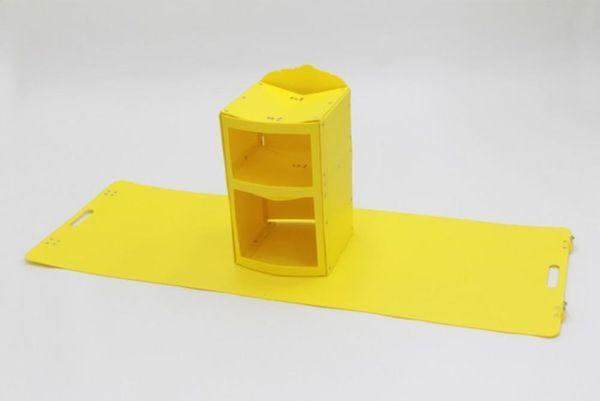 Um, WHAT?! Origami Pop-Up Furniture Rules!