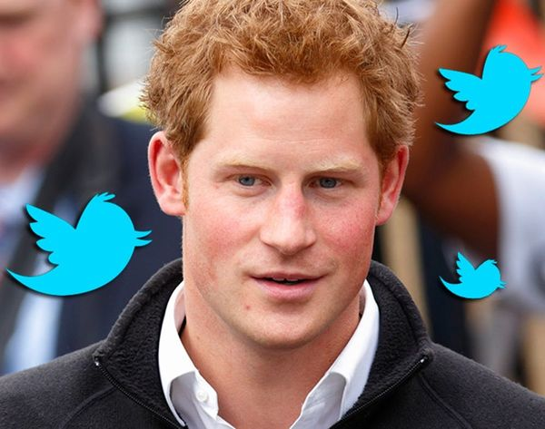 We're Royally Swooning Over Prince Harry's Very First Tweet
