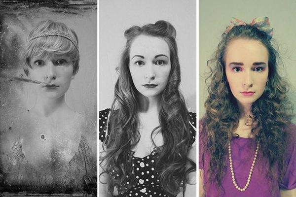Teen Recreates High School Yearbook Pics From the 1920s to Now