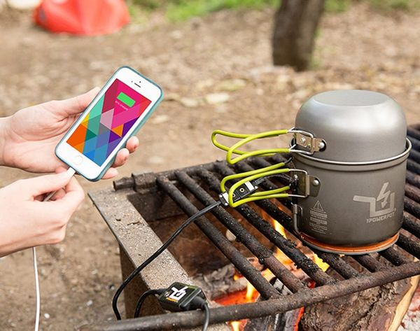 Now You Can Use a Campfire to Charge Your Phone