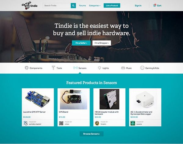 Hack Your Hardware With the Help of New Site, Tindie