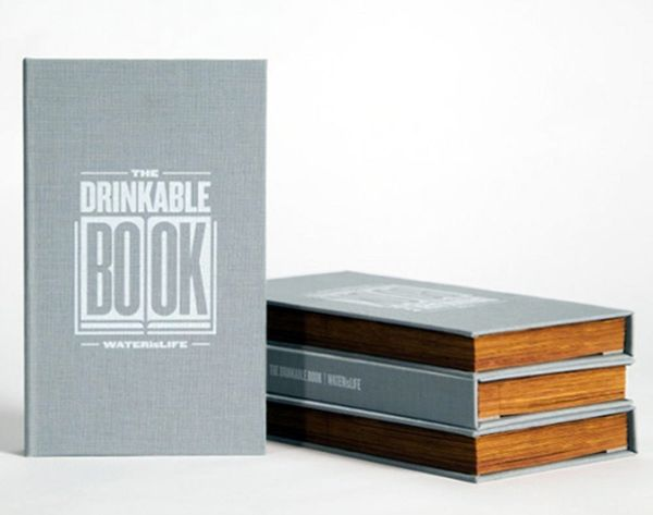 How This 'Drinkable Book' Will Save Millions of Lives