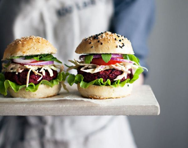 19 Very Delicious Veggie Burger Recipes