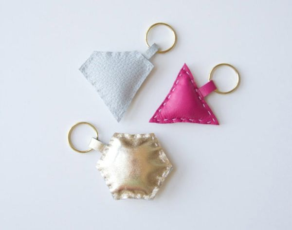 Dress Up Your Keys With 20 DIY Keychains