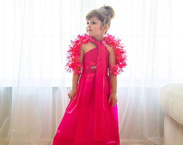 No One Can Top This 4-Year-Old's Epic Met Gala DIY