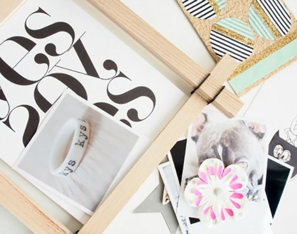 19 DIY Photo Frames for Mother's Day